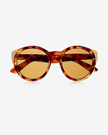 oversized tortoiseshell cat eye sunglasses