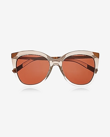 rose gold cat eye sunglasses