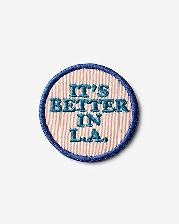 better in la iron-on patch