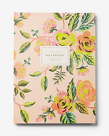 rifle paper co. jardin de paris notebook