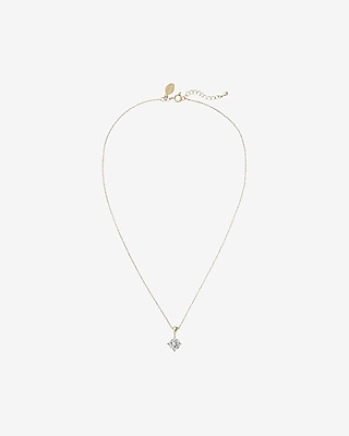 2-CARAT cubic zirconia necklace