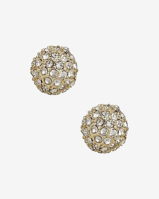 Express Womens Fireball Stud Earrings