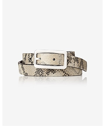 2-IN-1 reversible buckle belt