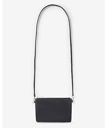 double zip convertible cross body bag
