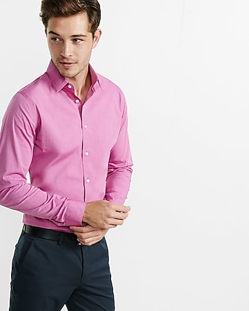 petal fitted textured 1MX shirt