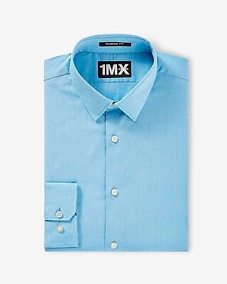 Express Mens Modern Fit Textured 1Mx Shirt