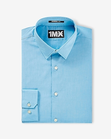 modern fit textured 1MX shirt