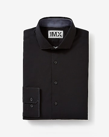 black express tech fitted 1MX shirt