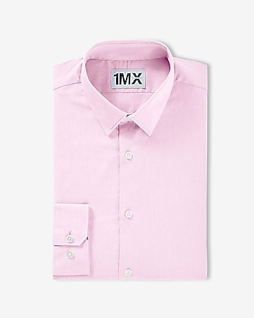 1MX fitted stretch cotton shirt
