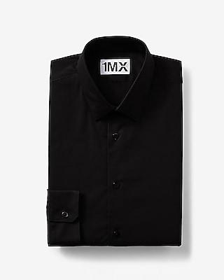 Express Mens Slim Fit 1Mx Shirt Black Small