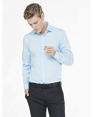 MODERN FIT 1MX SPREAD COLLAR SHIRT