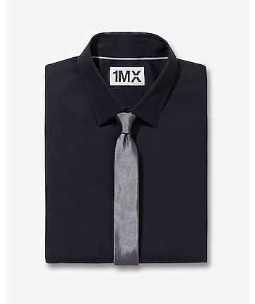 modern fit button collar 1MX shirt