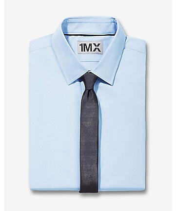 slim spread collar 1MX shirt