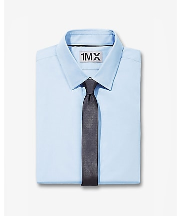 modern fit 1MX button down collar shirt