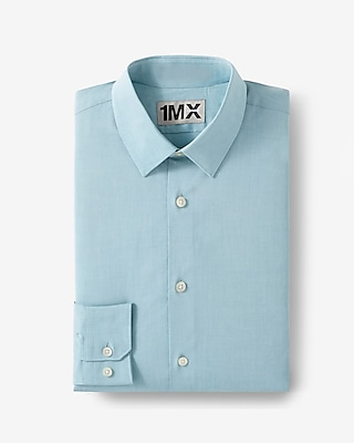 Express Mens Slim Iridescent 1Mx Shirt