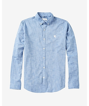 oxford cloth small lion shirt