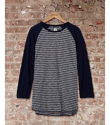 express one eleven long sleeve baseball tee