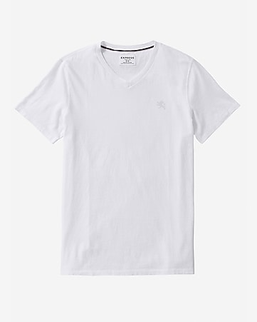small lion v-neck tee