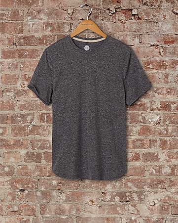 express one eleven brushed crew neck t-shirt