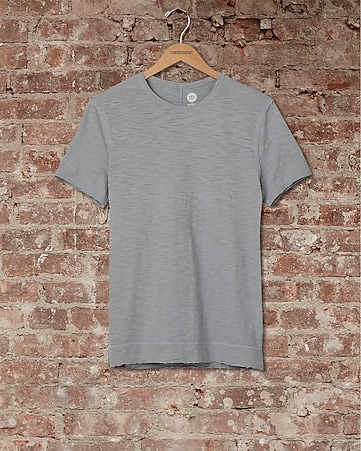 express one eleven garment dyed crew neck t-shirt
