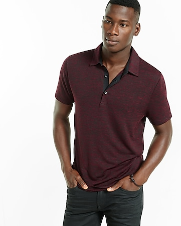 express one eleven jersey polo
