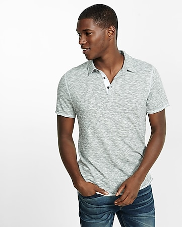 express one eleven marled polo