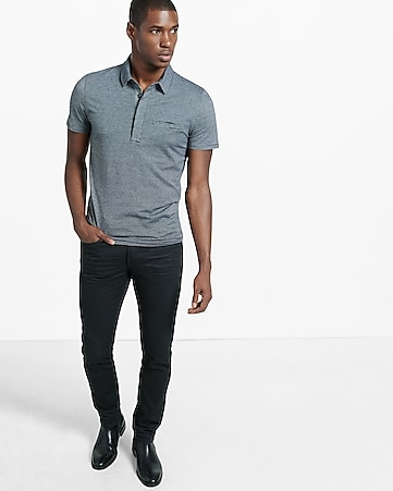birdseye signature welt pocket polo