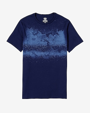 dare to dream spatter graphic t-shirt