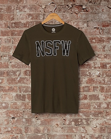 express one eleven nsfw graphic t-shirt