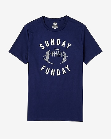 sunday funday graphic t-shirt