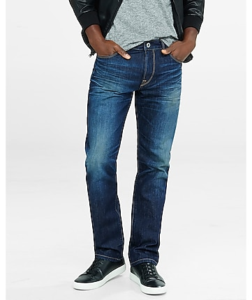 classic fit kingston medium straight leg jeans