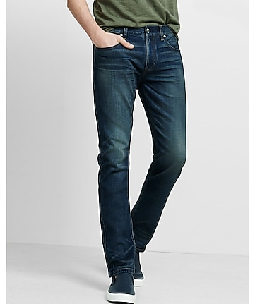 slim rocco performance stretch straight leg jean