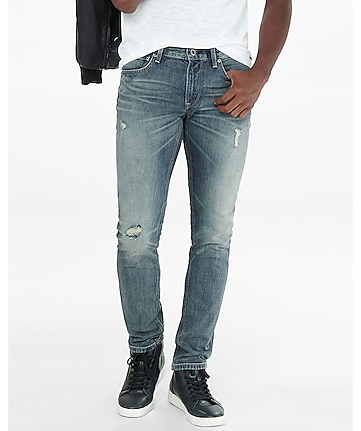 skinny alec distressed flex stretch jean