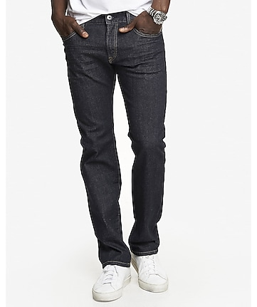 slim fit rocco dark flex stretch straight leg jean