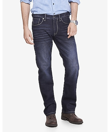 slim fit rocco straight leg jean