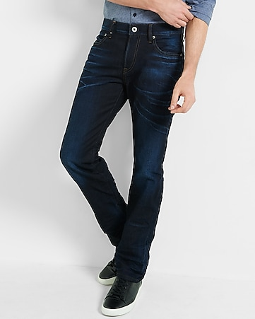 slim fit rocco dark straight leg jean