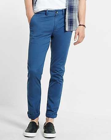 skinny hayden flex stretch blue chino