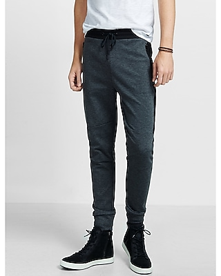 Express Mens Color Blocked Drawstring Jogger Pant