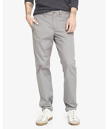 straight fit gray camden chino pant