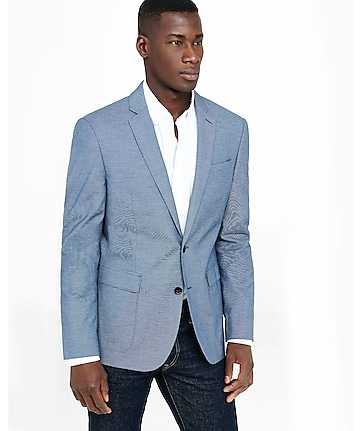 blue dobby photographer blazer
