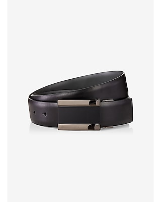 2-IN-1 reversible leather belt