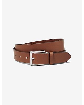 Express Mens Leather Buckle Belt