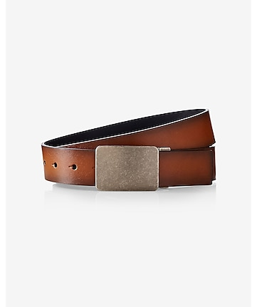 2-IN-1 reversible casual leather belt