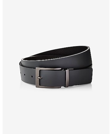 2-IN-1 reversible textured & smooth belt