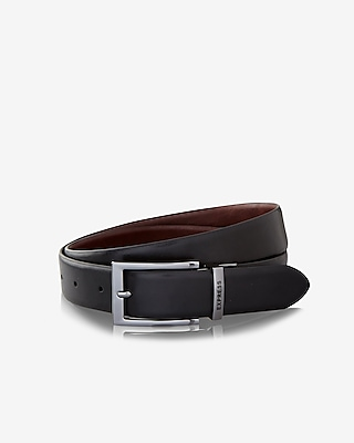Express Mens Reversible Prong Buckle Belt