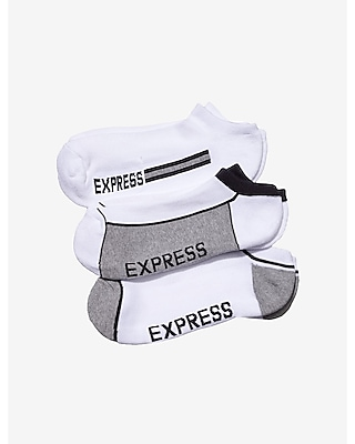 Express Mens Exp Core Tonal Athletic Socks 3-Pack