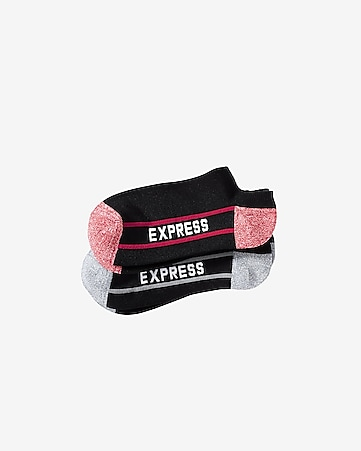 EXP core marl tipped athletic socks 2-PACK