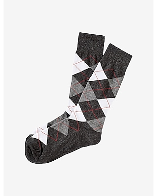 Express Mens Argyle Dress Socks