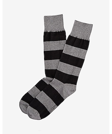 rugby strip dress sock