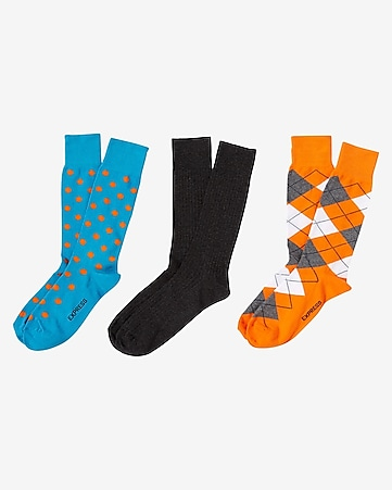 dress socks 3-PACK